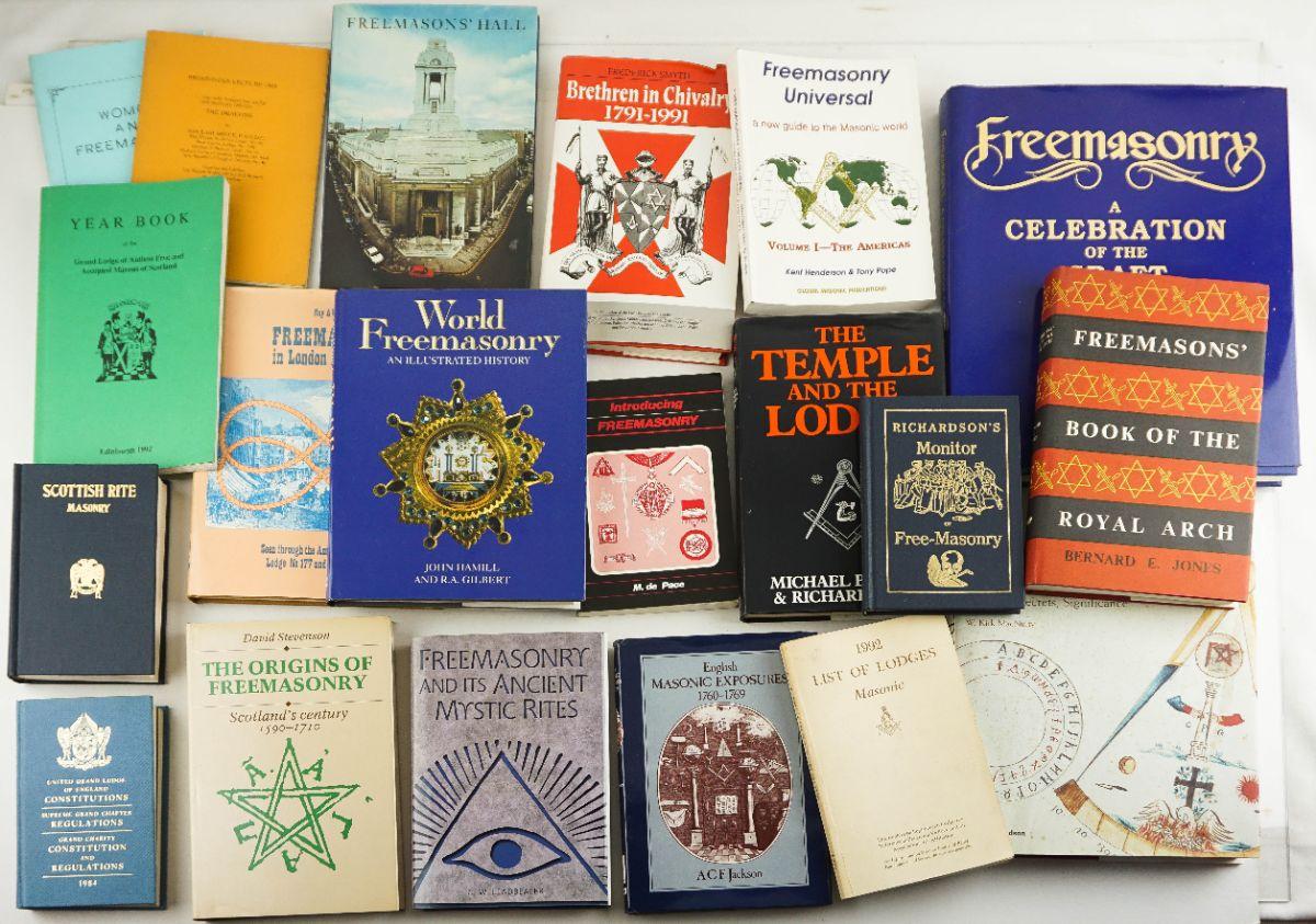 Obras Inglesas sobre a Maçonaria