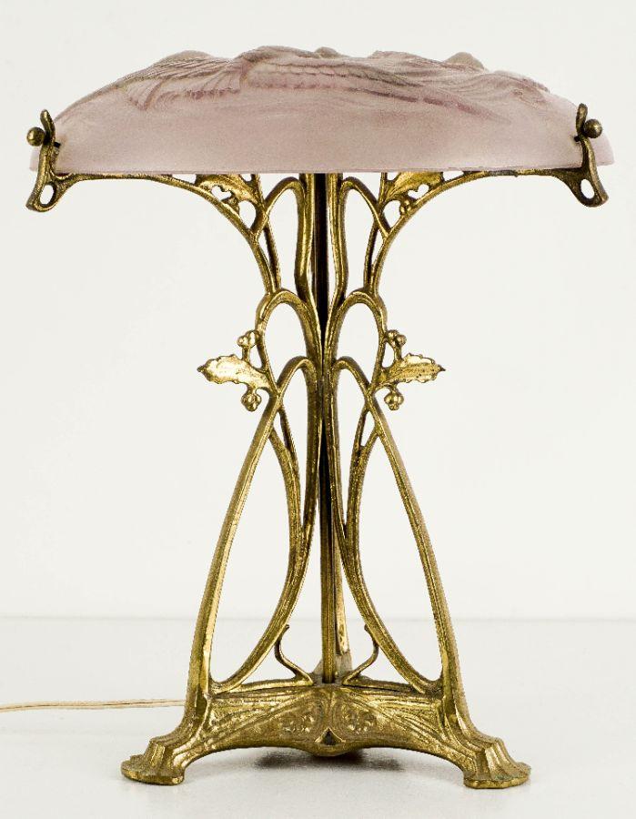 Candeeiro de mesa Arte Nova