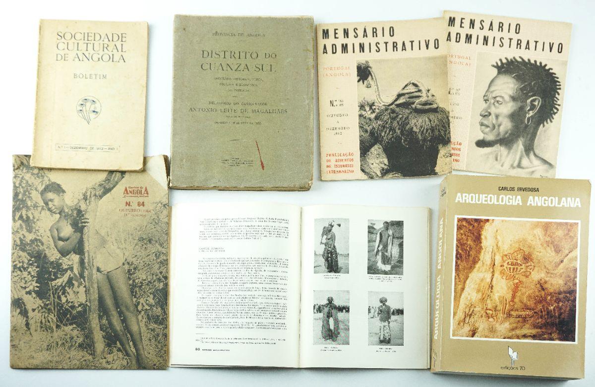Livros sobre Angola