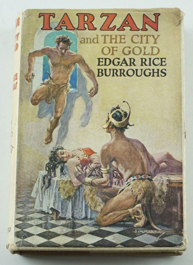 Tarzan and The City of Gold – 1ª edição inglesa 1936