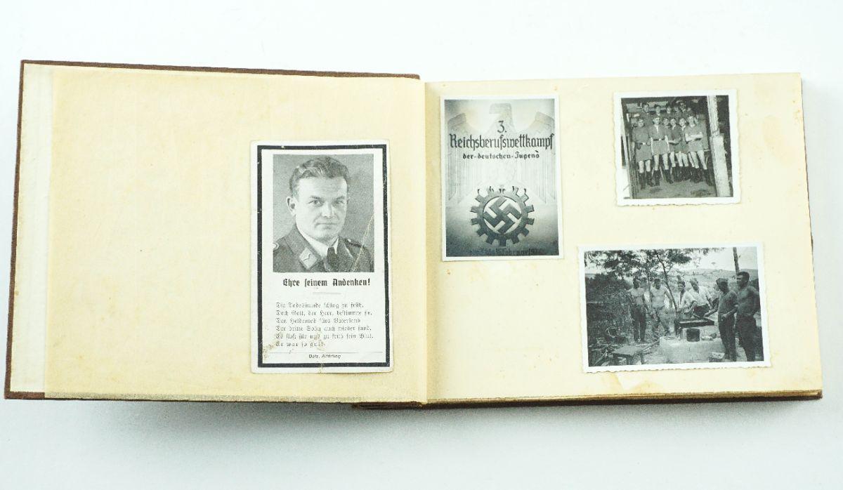 Álbum de Fotografias Alemãs /Nazi II Guerra Mundial