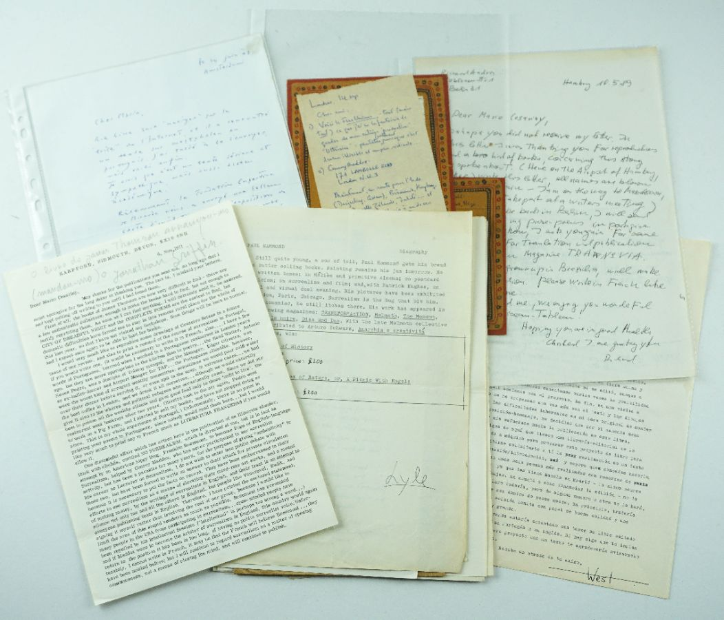 Mario Cesariny – Manuscritos