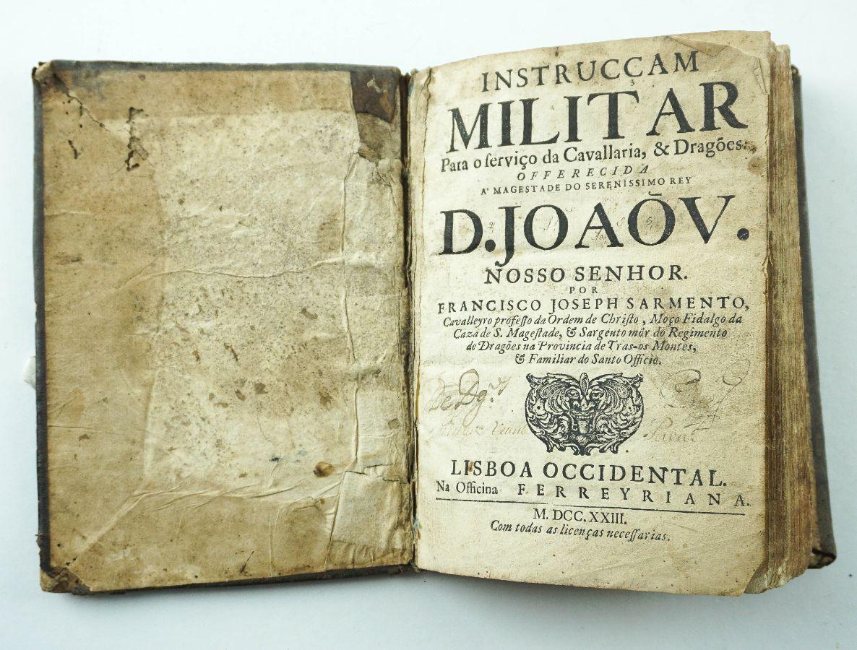 Instruccam Militar para o Serviço da Cavallaria & Dragões – 1723