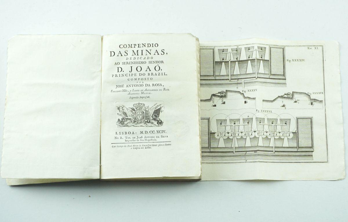 Compendio das Minas - 1794