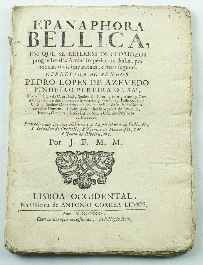 Epanaphora bellica – 1735