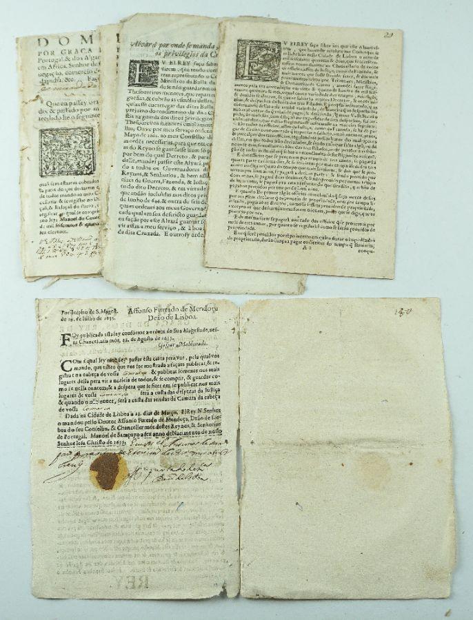 Publicações Portuguesas Séc. XVII ( período da restauração)