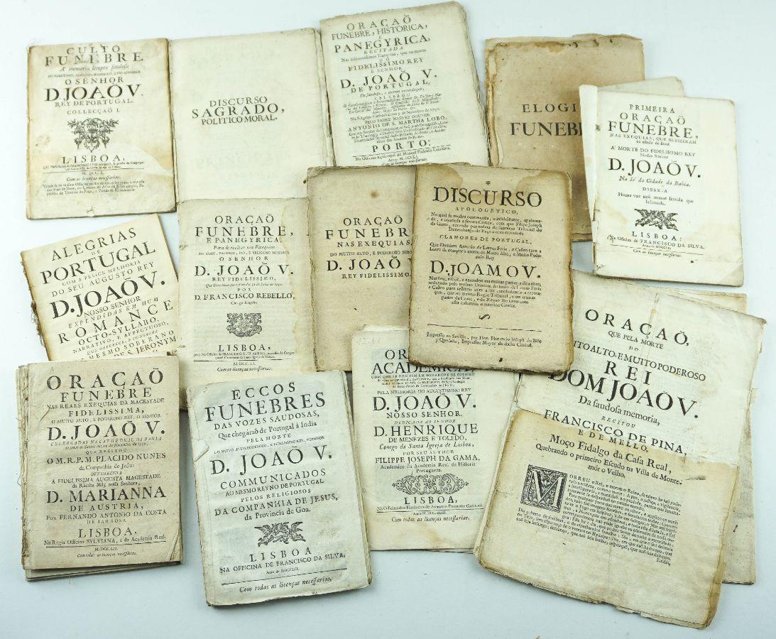 Publicações do Séc. XVIII sobre D. João V