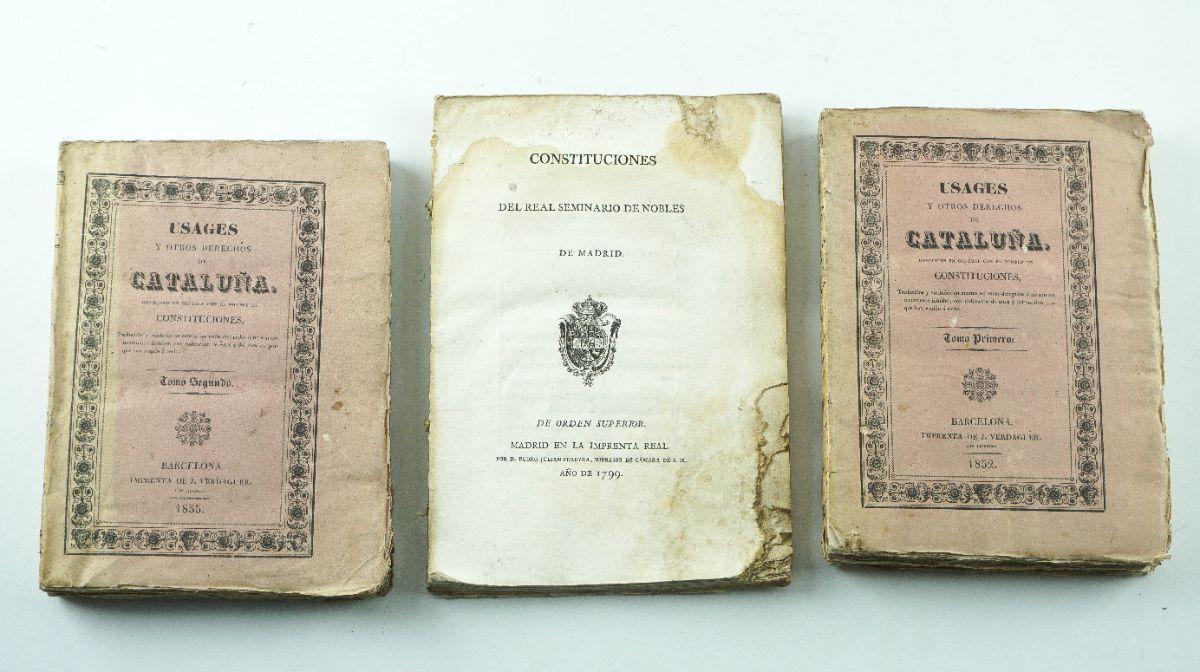 Publicações Espanholas séc. XVIII e XIX