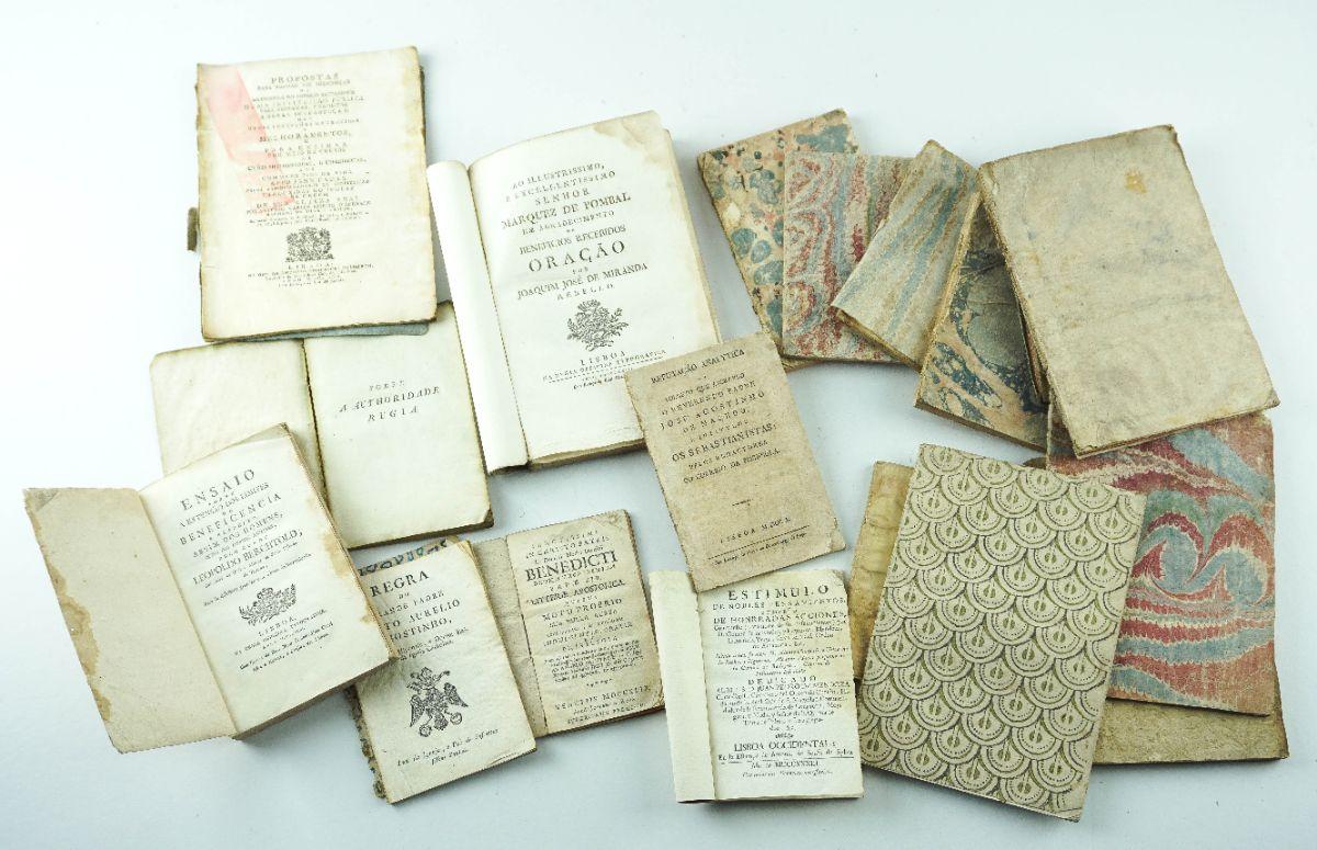 Conjunto de Publicações Portuguesas do séc. XVIII e XIX