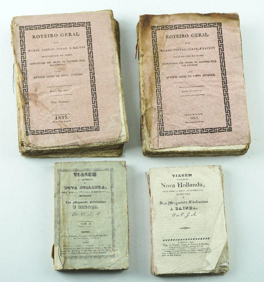 Livros de Viagens Portugueses, séc. XIX