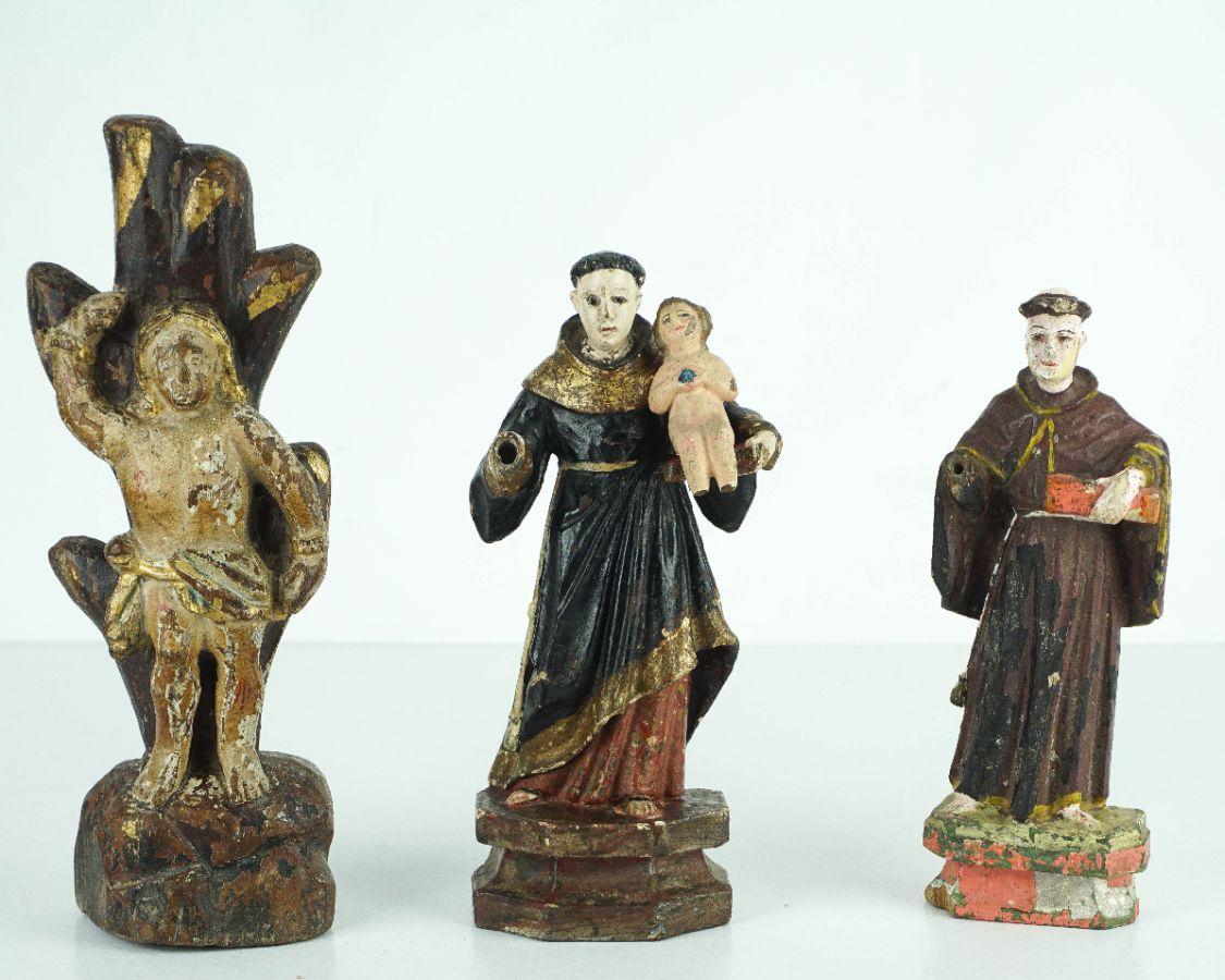3 Esculturas Religiosas