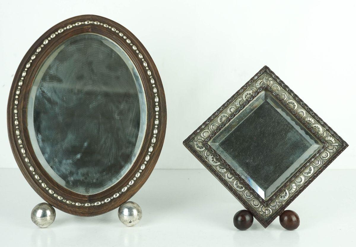 2 Espelhos de mesa