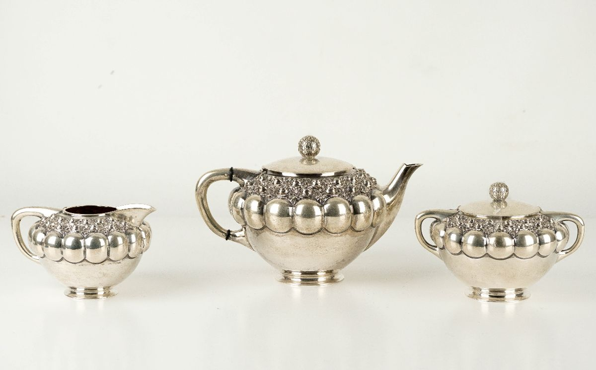 Conjunto de Chá Art Deco