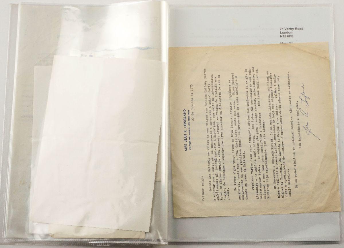 Mário Cesariny – manuscritos