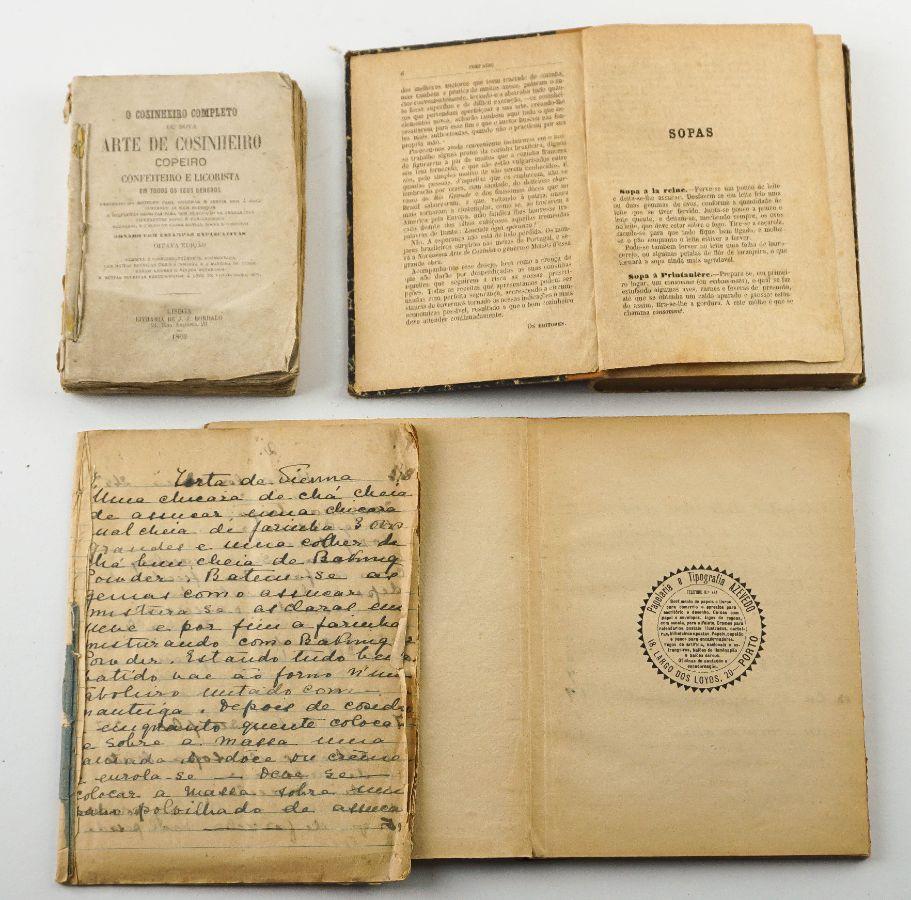 Livros e manuscritos de Cozinha sec XIX
