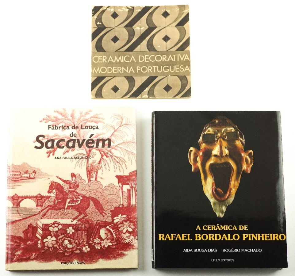 Livros sobre Louça e Cerâmica Portuguesa