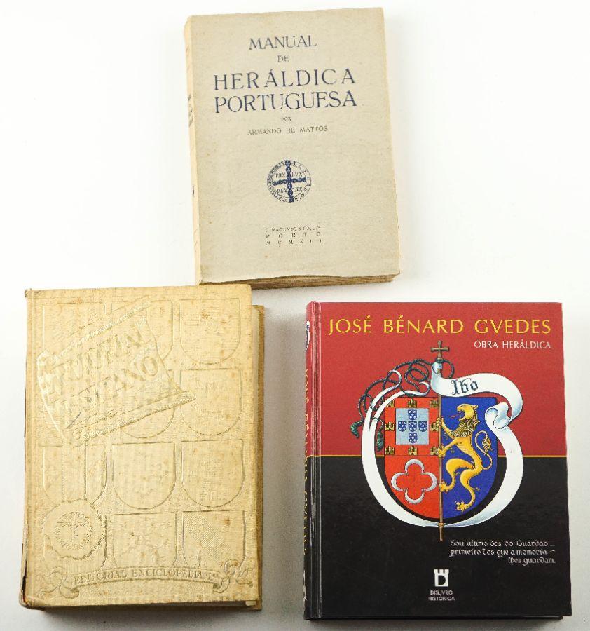 Livros sobre Heráldica e Genealogia