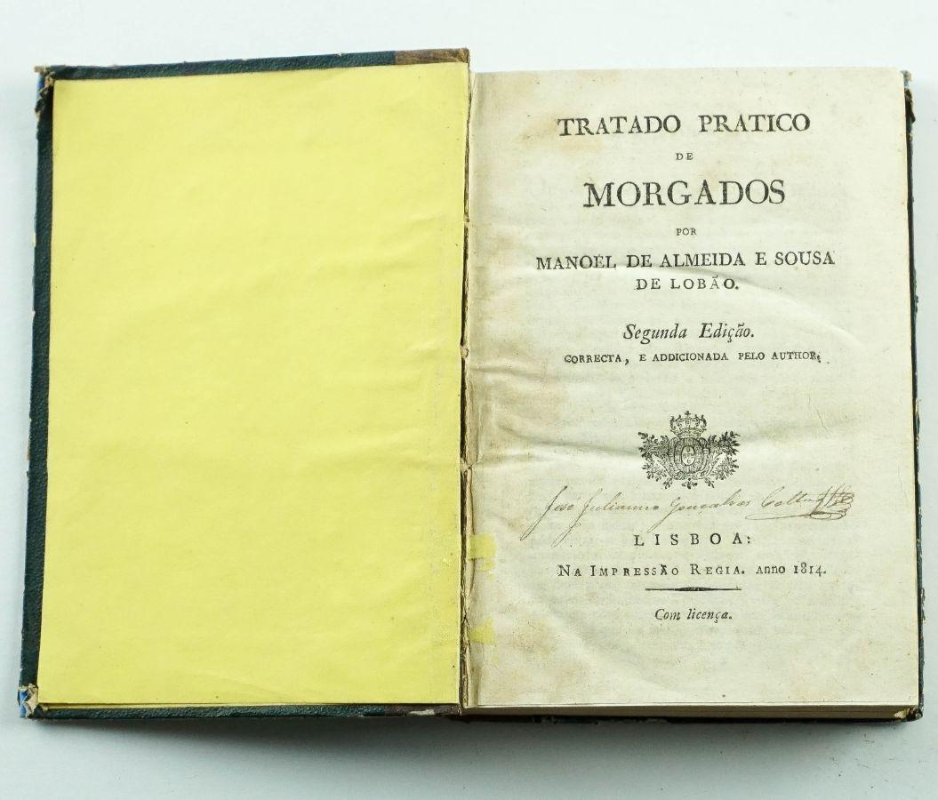 TRATADO PRÁTICO DE MORGADOS