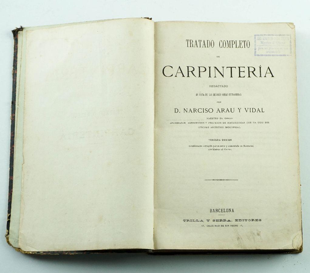 TRATADO DE CARPINTERÍA
