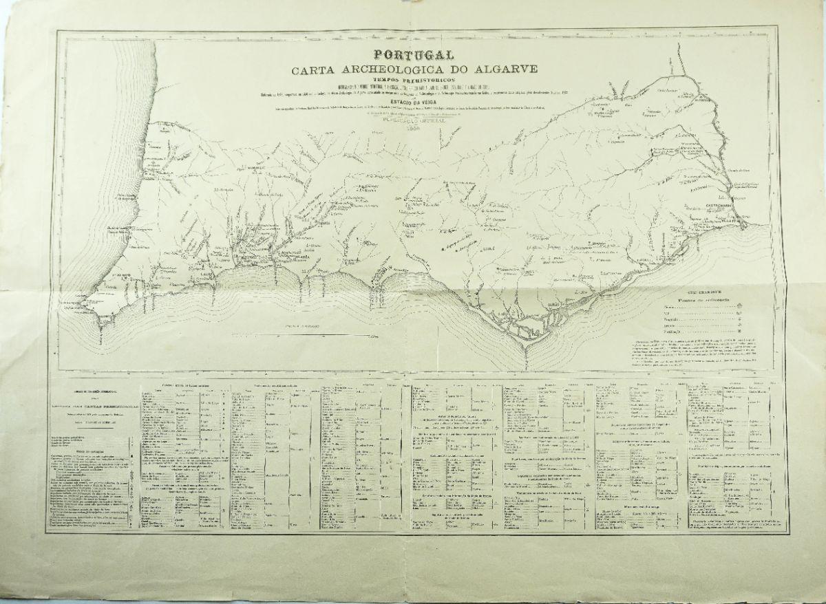 Carta Arqueológica do Algarve Tempos pré-históricos (1880)