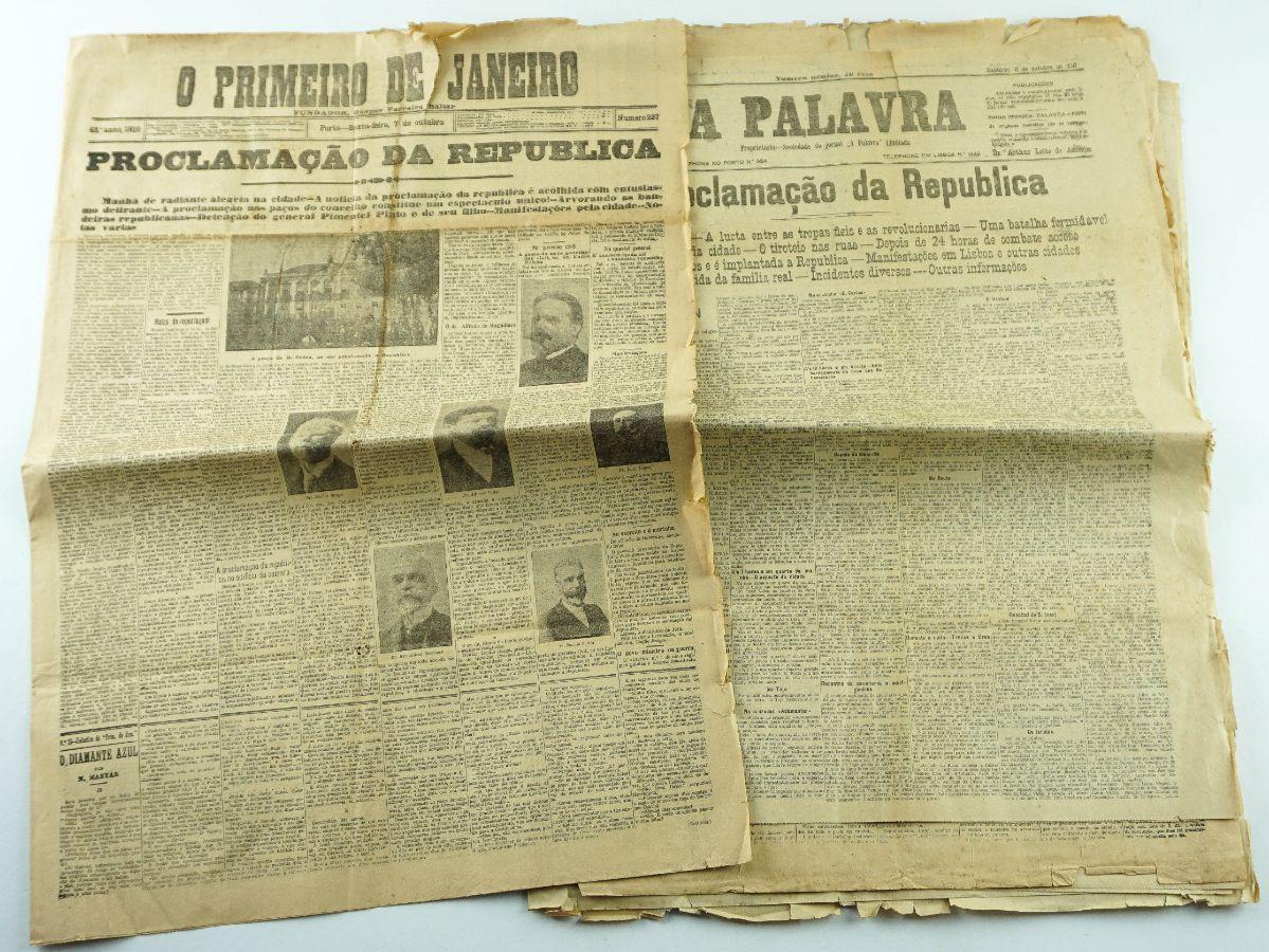 11 Jornais da Proclamação da República