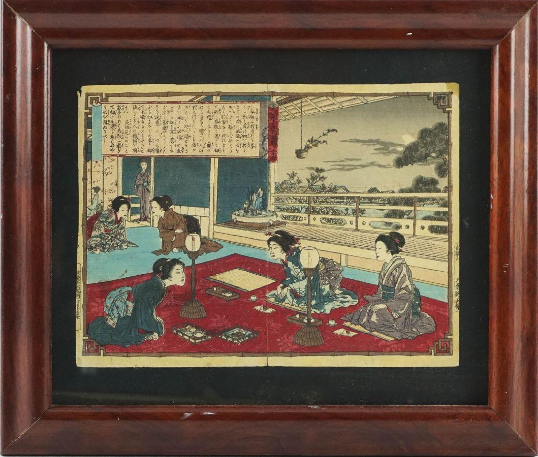 3 Xilogravuras Japonesas