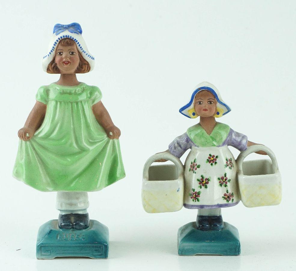 2 Figuras de movimento em forma de meninas