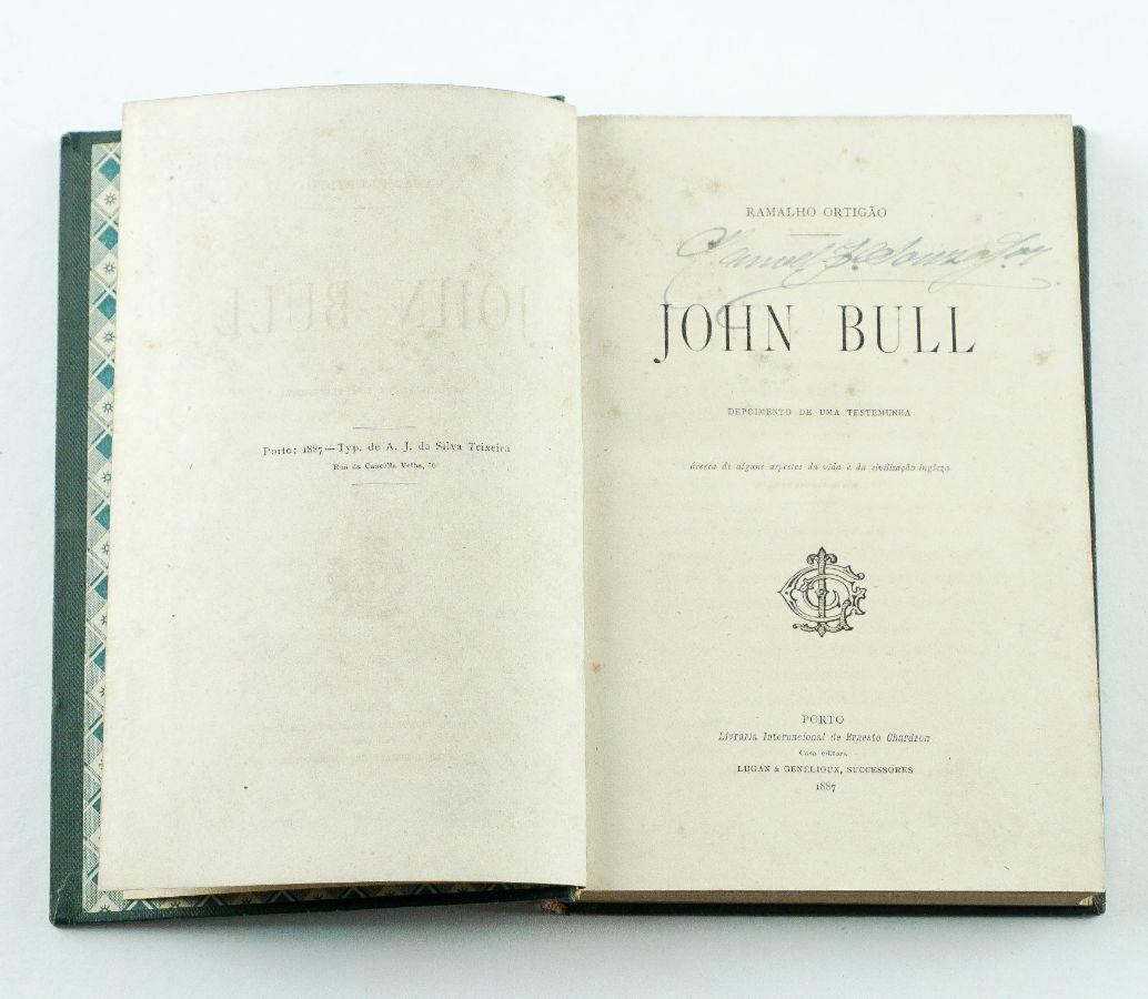 Ramalho Ortigão - John Bull. Primeira Edição