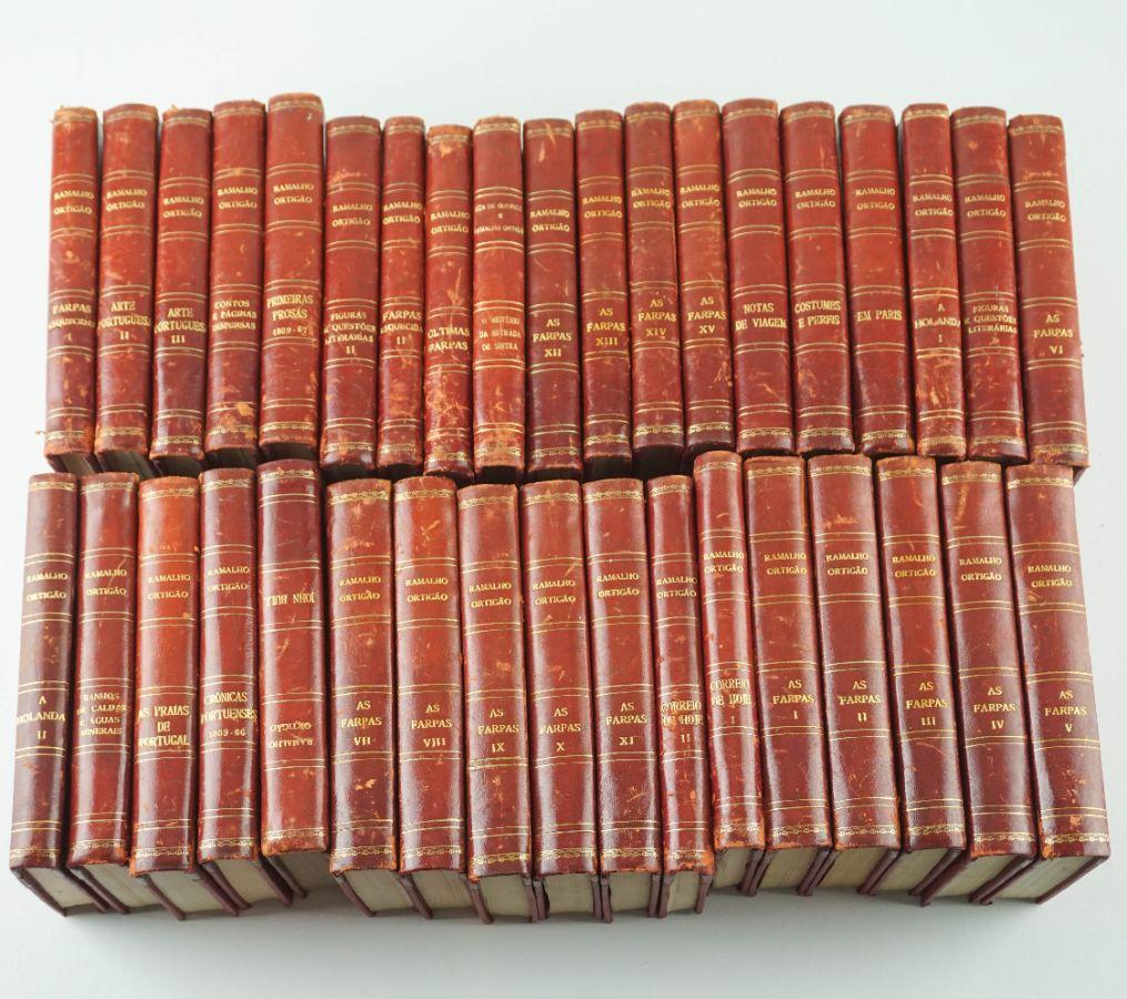 Ramalho Ortigão- Obras Completas 36 volumes