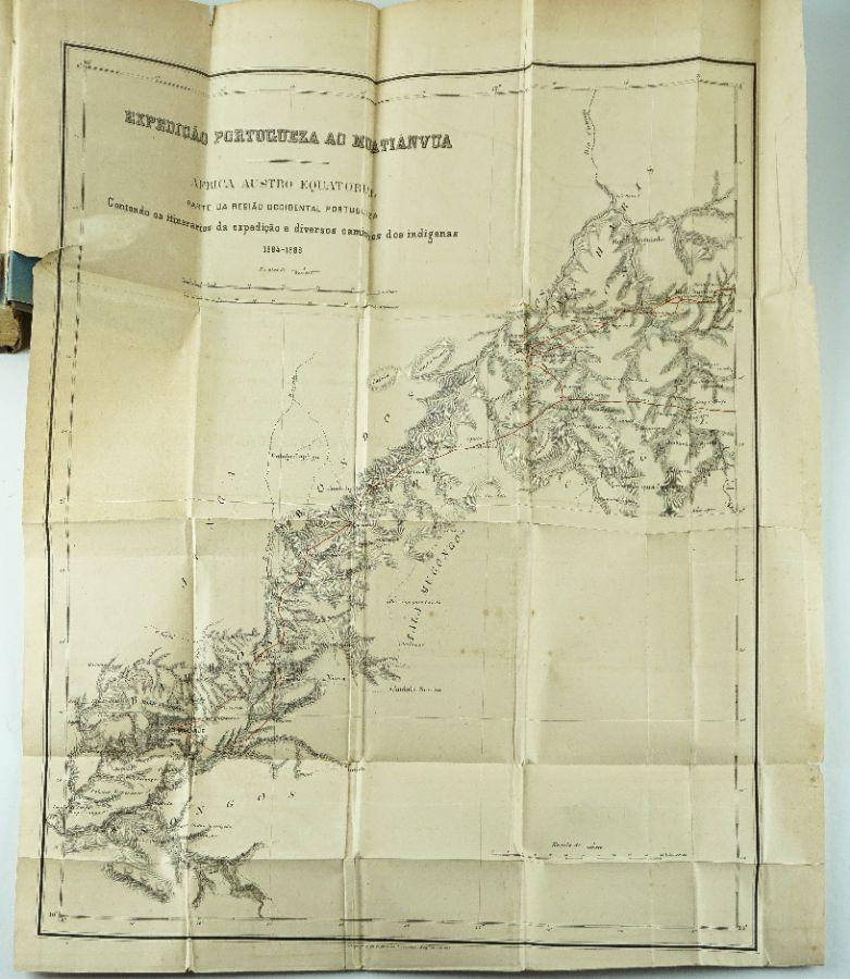 Henrique Augusto Dias de Carvalho - Expedição Portugueza ao Muatiânvua – 5 volumes