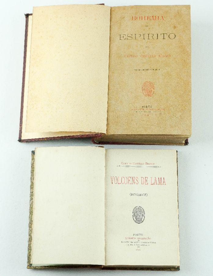 Camillo Castello Branco – Primeiras edições