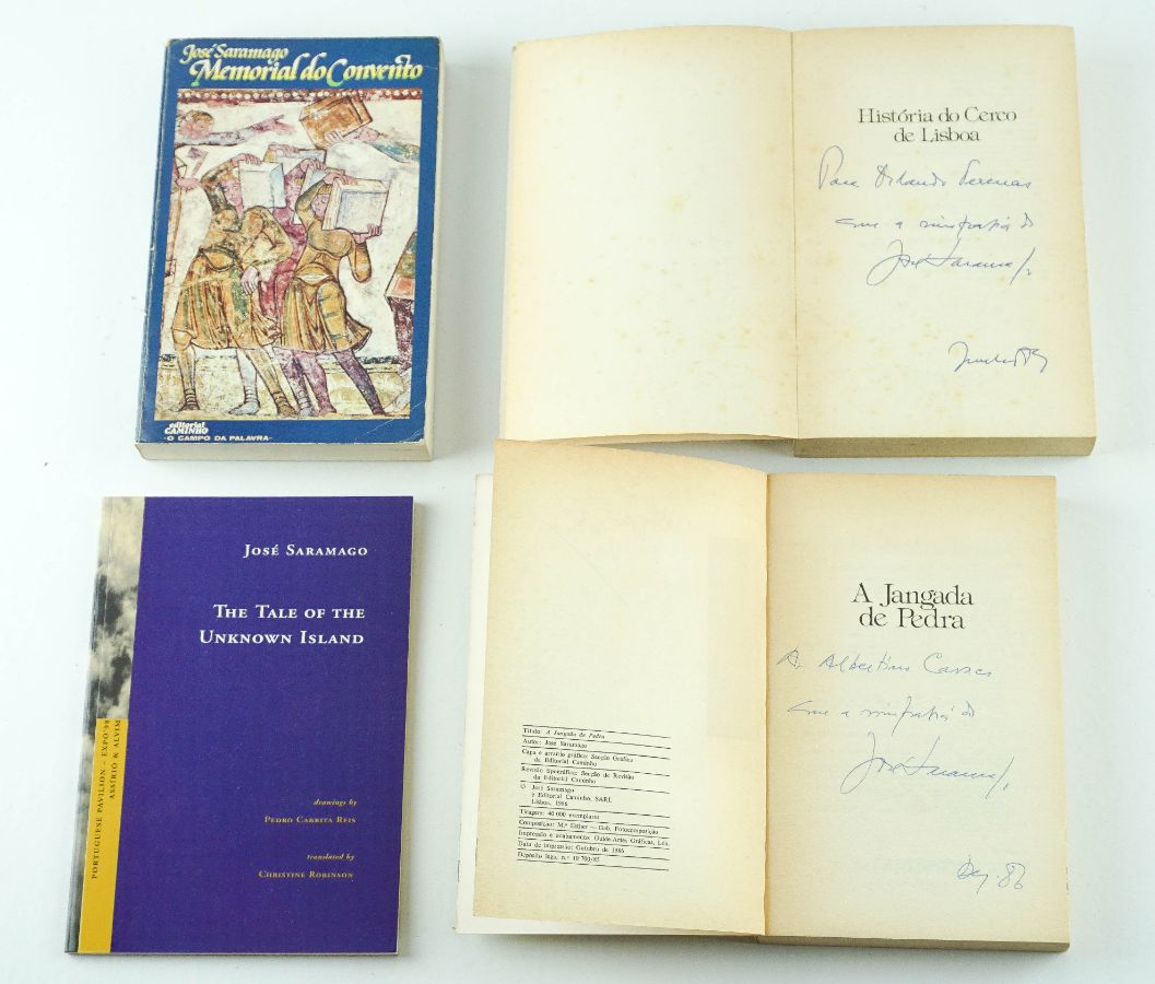 José Saramago – 1ª edição – com dedicatória