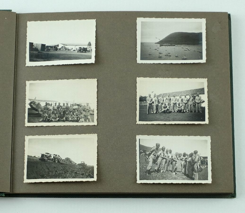 Albúm fotografias aviação militar portuguesa – anos 40