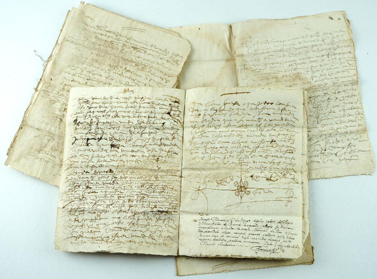 Manuscritos de concessões de foro sec XVI -Douro
