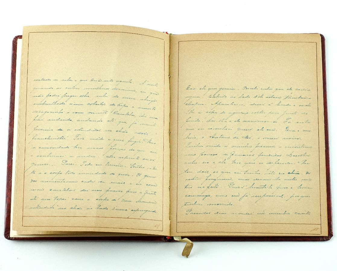 Manuscrito inédito de contos 1916