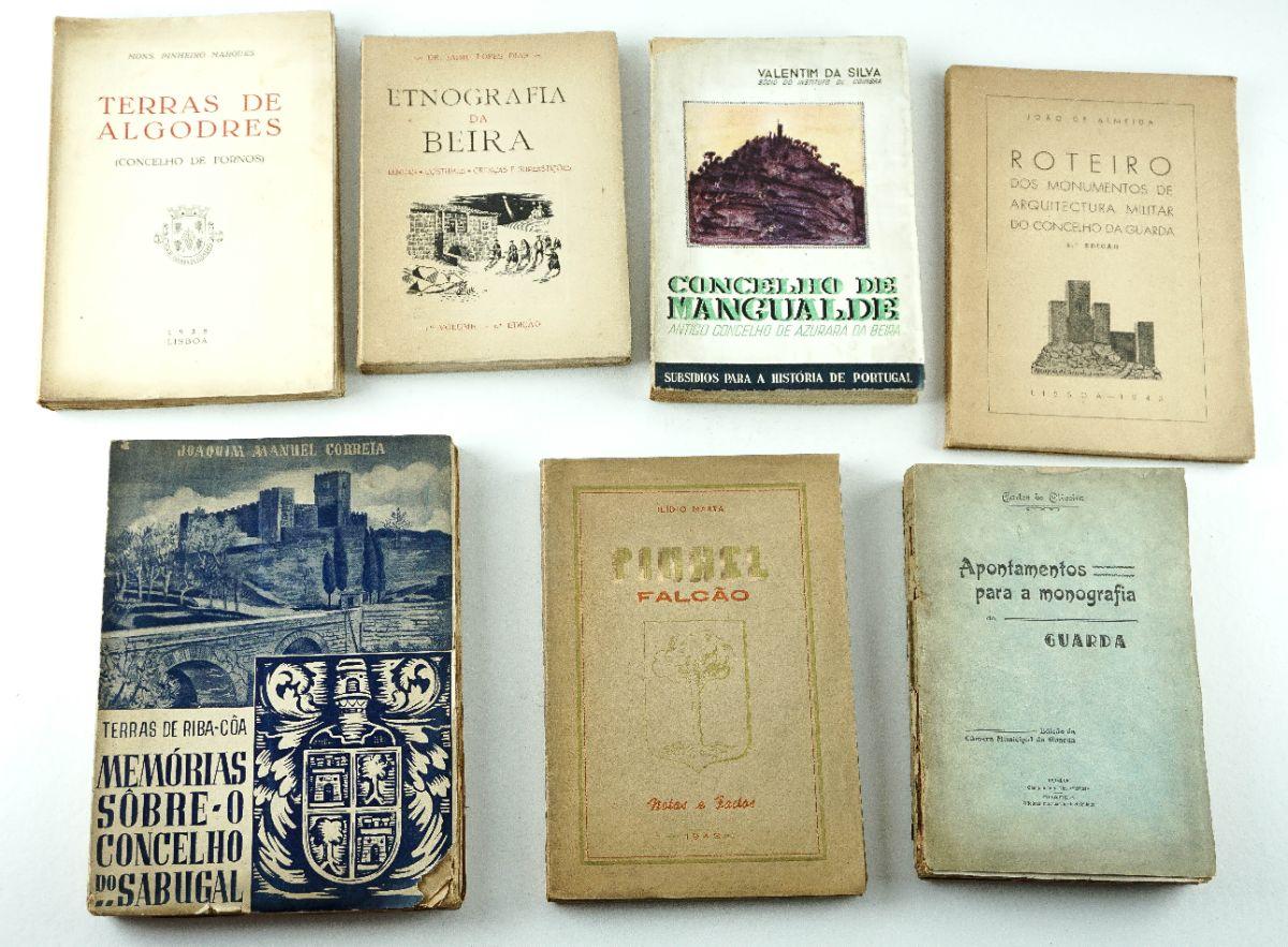 Livros sobre a região da Beira