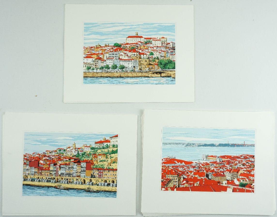 Vistas de Lisboa, Coimbra e Porto