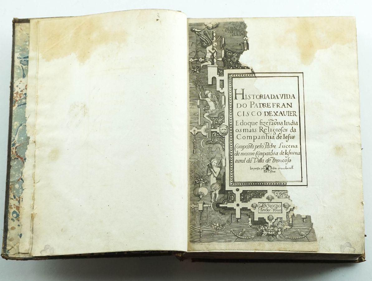João de Lucena – Vida de Francisco Xavier (1600)