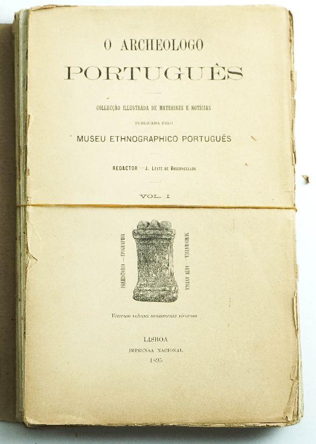ARCHEÓLOGO PORTUGUEZ (18 VOLUMES)