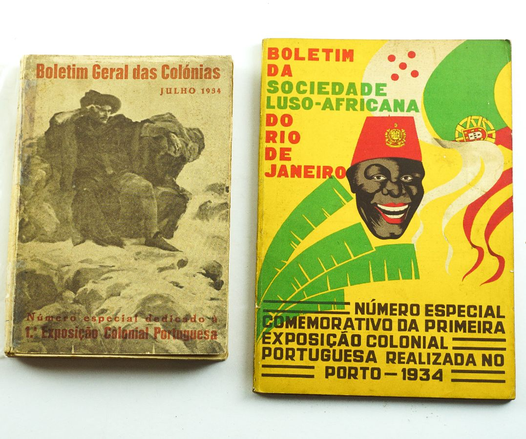 2 Livros sobre Colónias Portuguesas