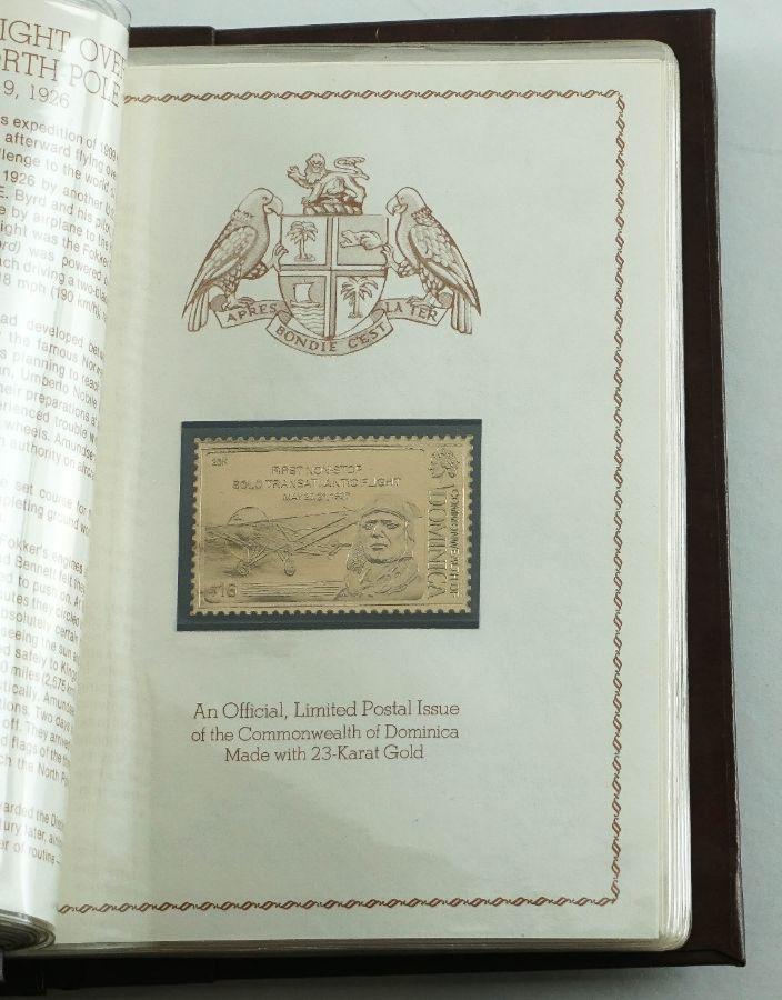"""Filatelia Temática Commonwealth of Dominica – """"Aviação"""""""
