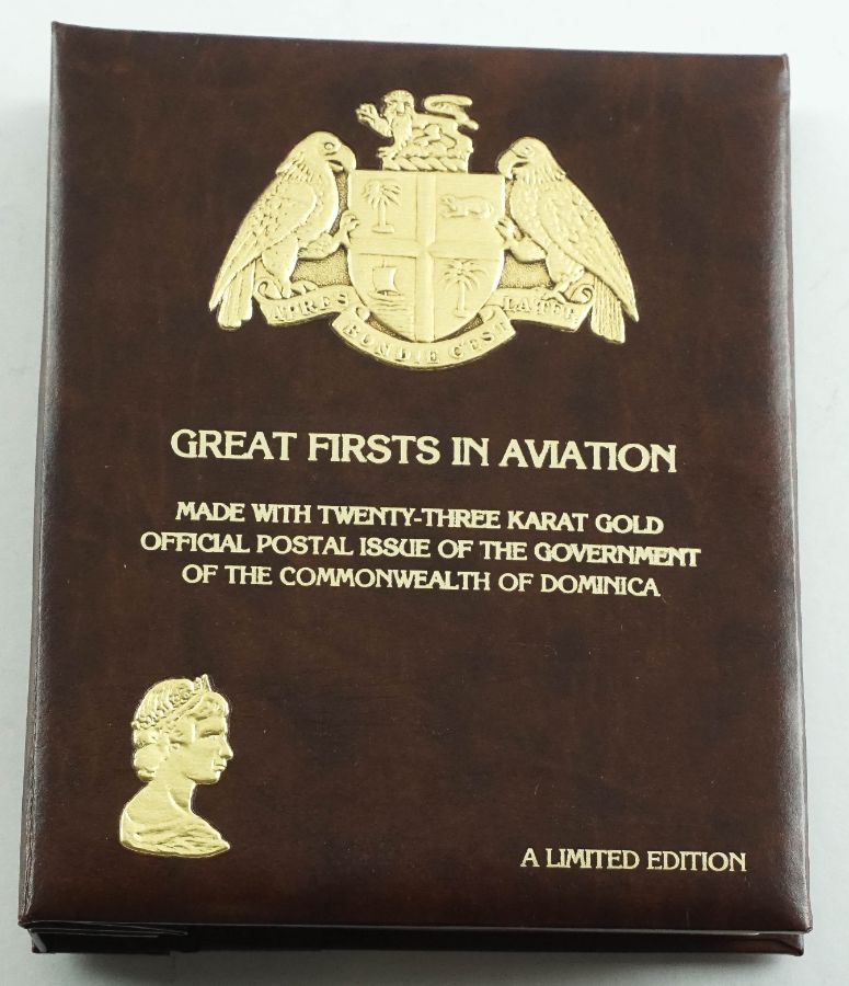 "Filatelia Temática Commonwealth of Dominica – ""Aviação"""