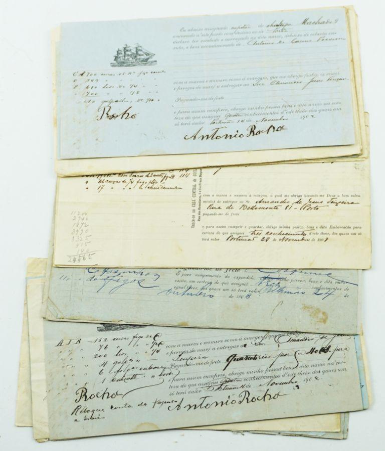 Documentos Portuários de embarque