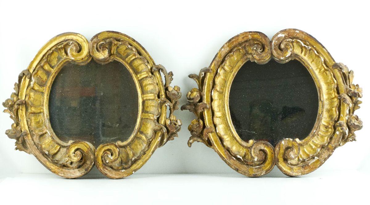 Par de espelhos de parede