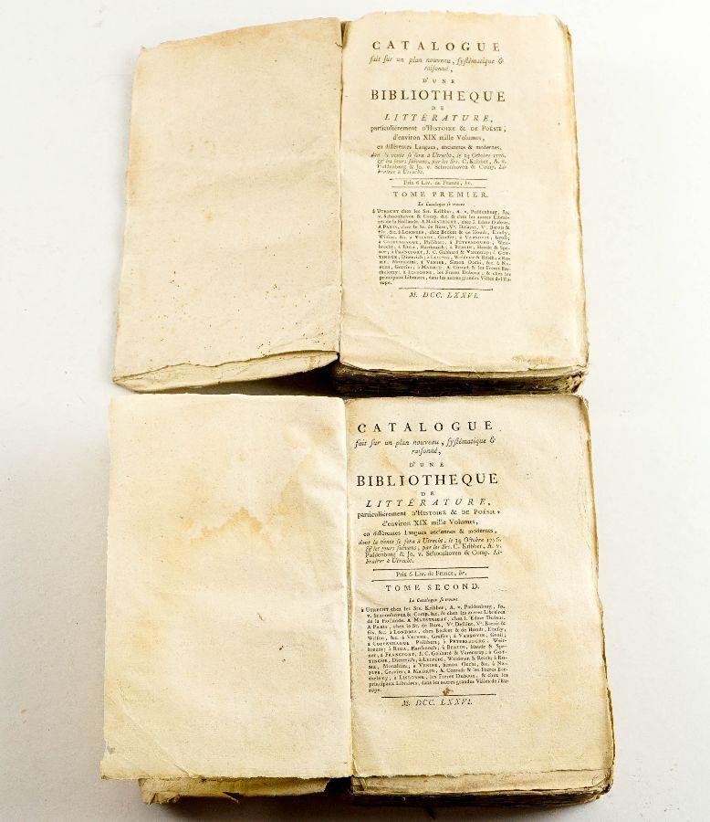 Catalogo de 1776