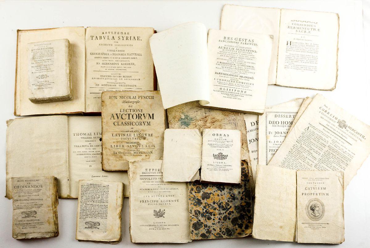 Publicações do sec XVIII e XIX