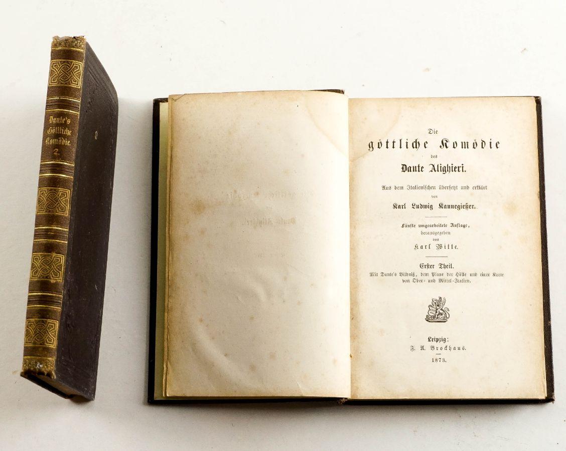 Dante Alighieri – Die Gottliche Komodie