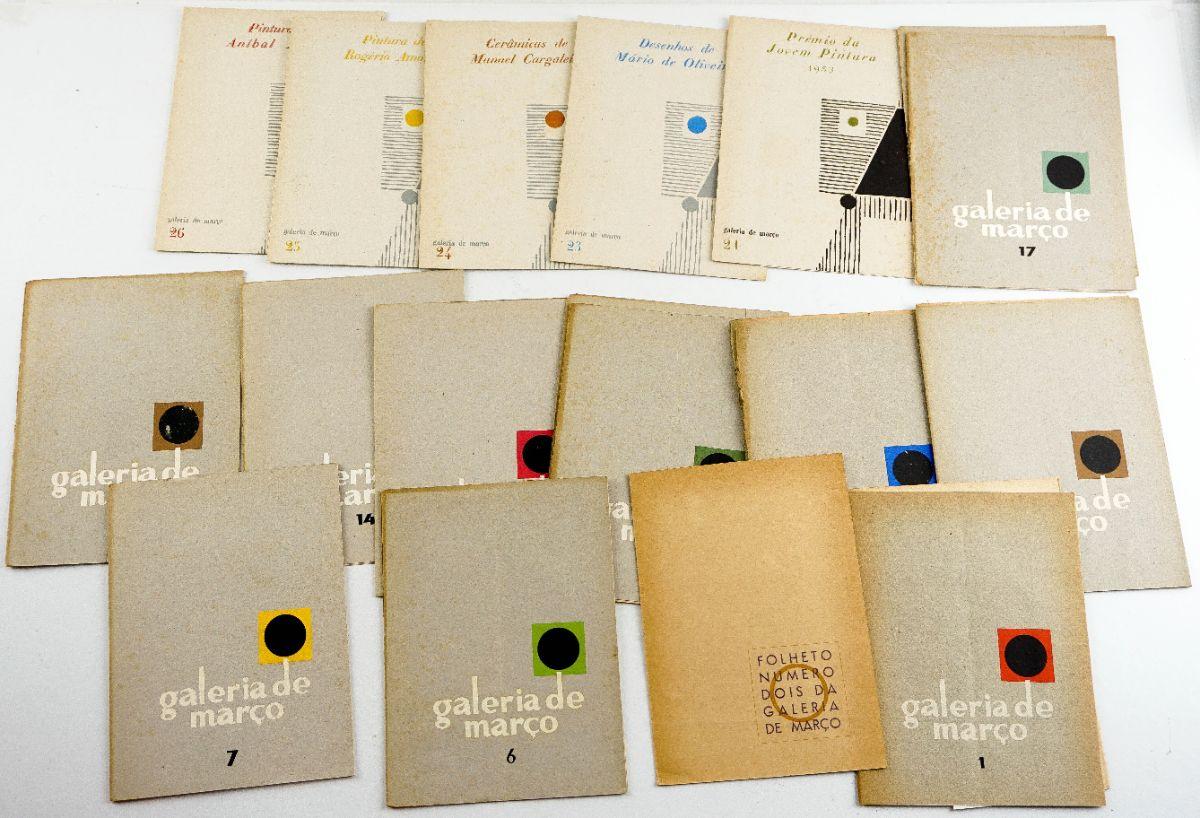 Galeria de Março – Catálogos