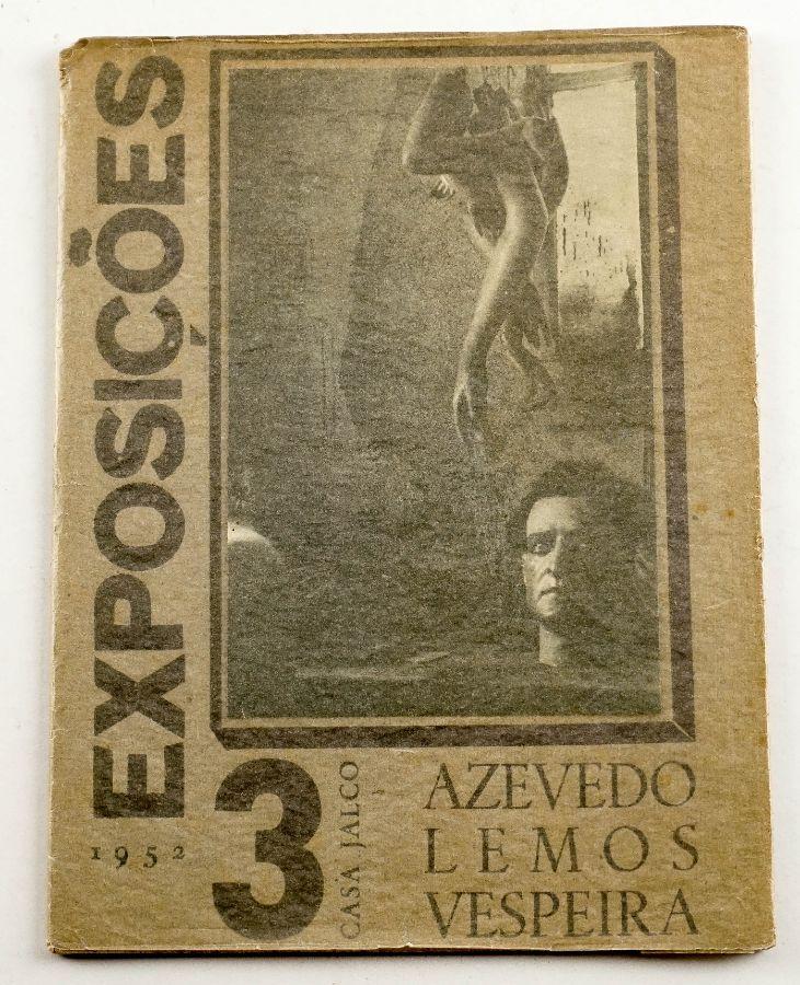 Catalogo casa Jalco Azevedo – Lemos – Vespeira. 3 Exposições – 1952