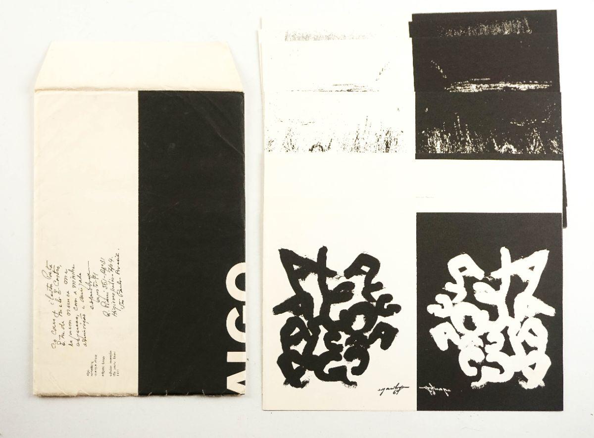 Livro de artista – Edições Invenção – Poesia Visual